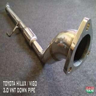 TOYOTA HILUX / VIGO 3.0 VNT DOWN PIPE