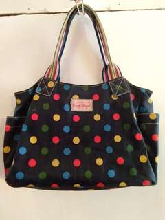 Candy flowers polka bag