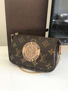 Louis Vuitton mini pochette accesoire authentic