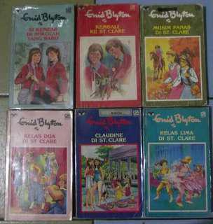 Paket Enid Blyton St. Clare 6 Buku Lengkap