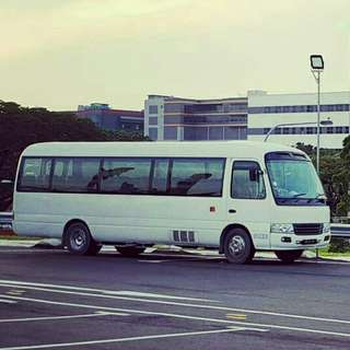 23 seater bus for booking
