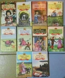 Paket Little House Seri Laura Ingalls Wilder 10 Buku Lengkap
