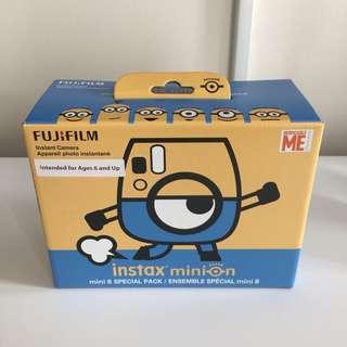 全新連盒 富士即影即有相機 Fujifilm Minions instax mini 8 instant film camera
