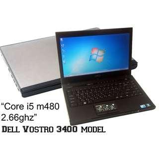 Laptop Core i5 M480 (Dell Vostro Brand)