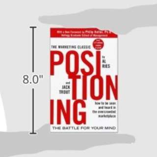 Positioning by Al Ries & Jack Trout - Marketing Classic!