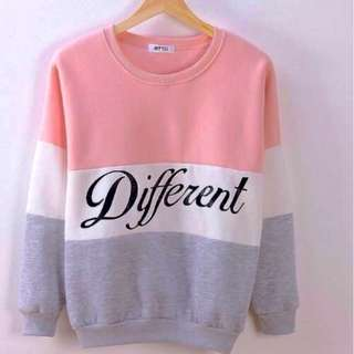 "CUTE SWEATER JACKET ""DIFFERENT"""