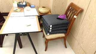 超低價再降價出清實木辦公書桌椅組