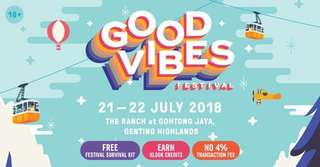 VIP Good Vibes Festival 2-day pass ticket