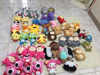 🌈STUFFED TOYS FOR PHP50 each MIN. of 3