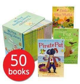 💥 NEW- Usborne My First Reading Library Set 50 books - Children books