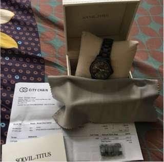 TITUS 鐵達仕 機械錶 自動 陶瓷錶