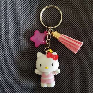 Customised Hello Kitty Keychain
