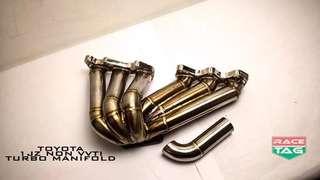 Toyota 1jz non vvti exhaust turbo manifold header