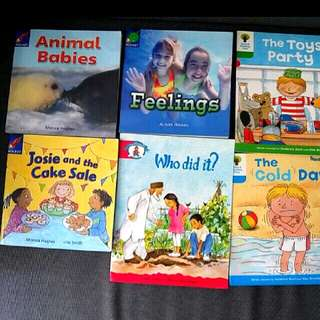 10 Oxford reading tree Rocket & Epb phonics english books