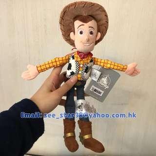 Woody Plush 反斗奇兵胡迪12吋毛公仔