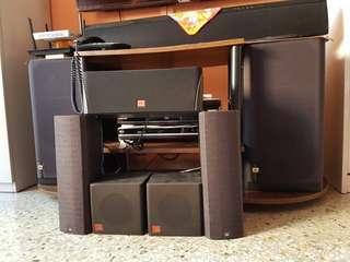 JBL Speaker set (7 of it)