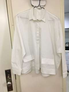 G&S 意大利白色鬆身恤(95%新)SizeM