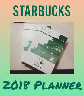 Starbucks Planners - Green