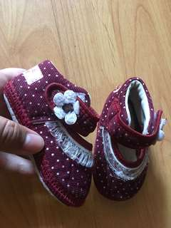 3-6 months baby girl shoes