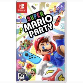 <Free Mailing> BN Switch Super Mario Party Nintendo Switch