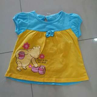 2-3yr Classic Pooh Blouse