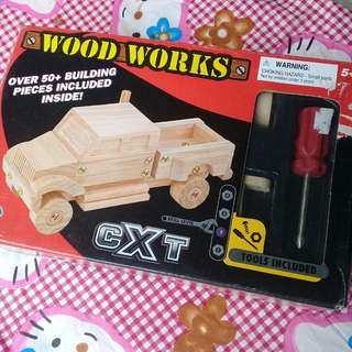 Building truck toy