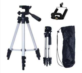 New Tripod Stand Aluminium Camera 3110 Ready Stock