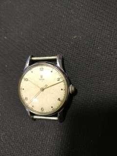 刁陀上鍊表,50年代制,原庄表壳,原庄面,行走正常。