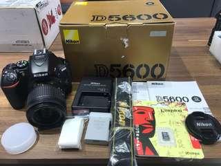 🚚 曙光數位 Nikon D5600 18-55mm VR 公司貨