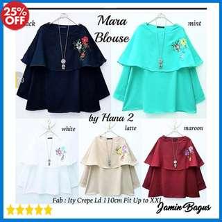 mara blouse Baju Atasan Blouse wanita murah