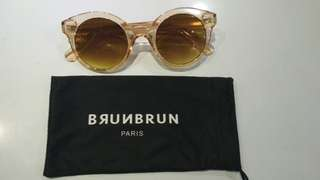 Sunglasses BurnBurn Paris baru pakai 1x FREE POUCH NYA real pict