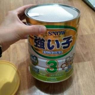 雪印 奶粉 T3