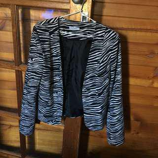 Zebra Stripe Jacket