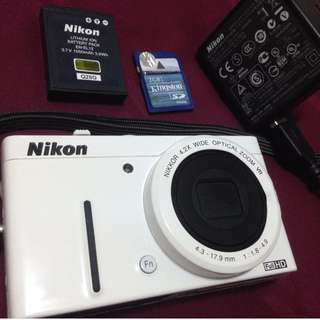 Nikon Coolpix p310 (White)