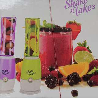Must Go! BNIB Shake N Take 3 Double Fruit Juice Blender