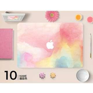 多個型號Apple Mac Book 彩色電腦保護貼 貼膜