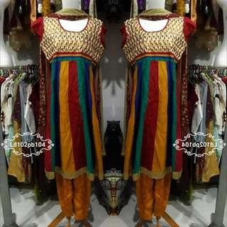 Set lengkap india dress celana selendang