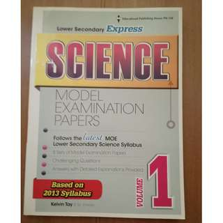 Science - Lower Secondary Assessment Volume 1 & 2