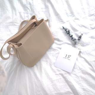 Smooth Leather Basic Leather Bag