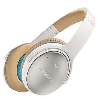 BNIB Bose QuietComfort 25 White Headphone QC25