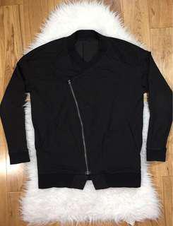 Lululemon Women Mula Bundle Wrap Assymetrical Zip up Jacket Oversize Fit Sz 8