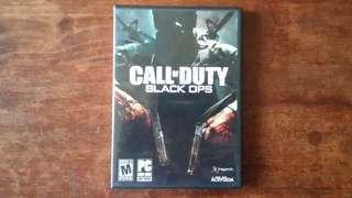 PC Game  CALL of DUTY - Black Ops