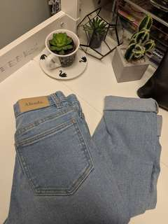 Afends Lucky High Waist Denim Jeans