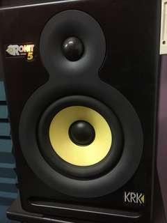 Rokit Powered 5 studio monitors