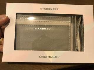 Starbucks Light Grey Cardholder