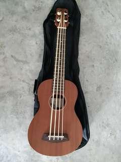 Ukulele Bass with Pickup & Tuner
