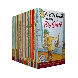 💥NEW- Nate the Great Set of 27 books - Children story books