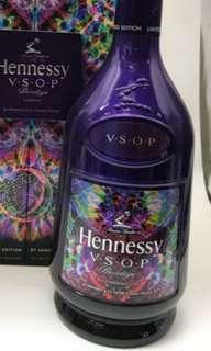 第七代,軒尼詩VSOP紫色特别版700ml連盒,香港行貨。