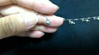 🚚 純銀打造海豚造型腳鍊