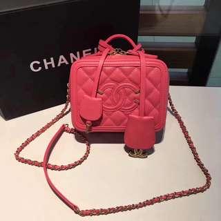 面交  Chanel 香奈兒化妝包  多色可選